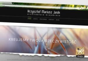 strona internetowa architekt