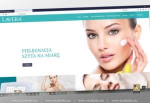 strona salon kosmetyczny