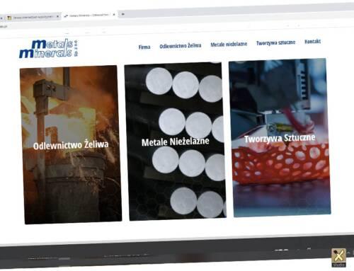 Metals Minerals strona www